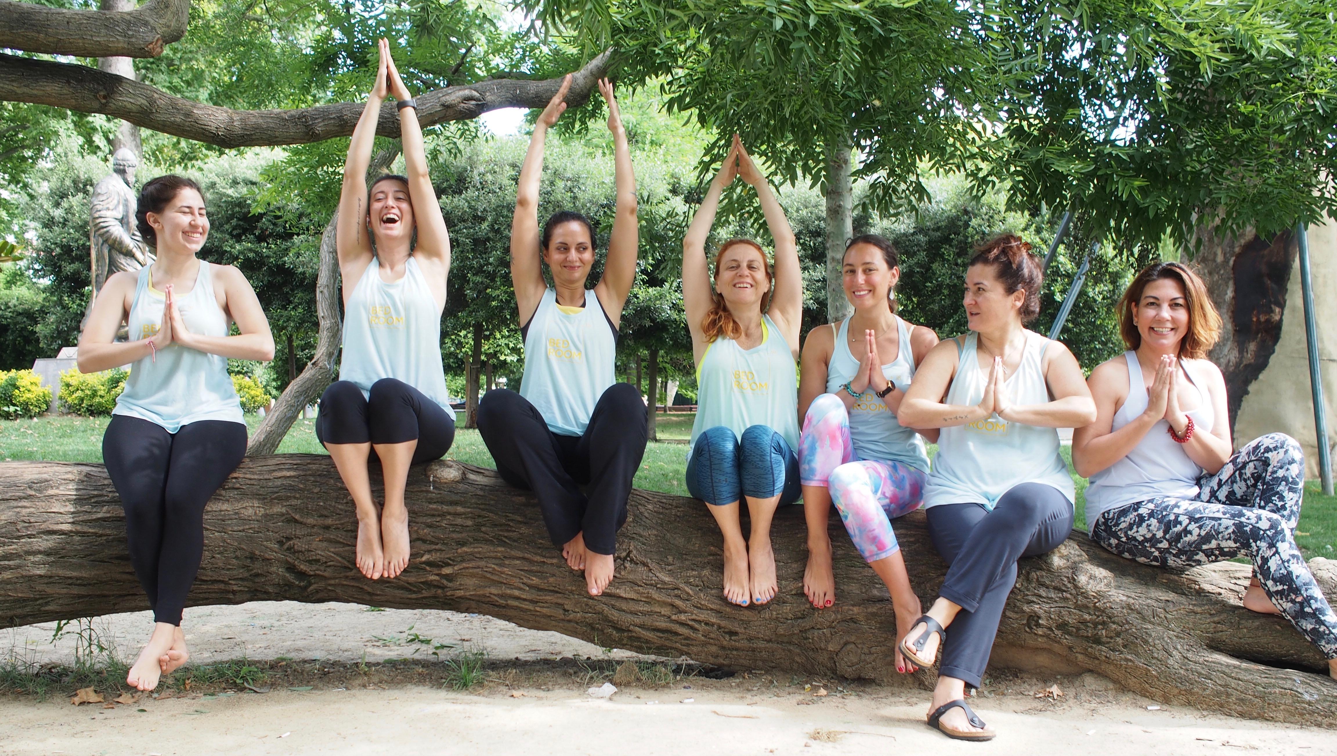 Bed Ekibi ile Bebek Park'ta Yoga